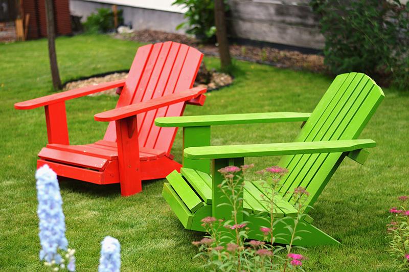 Party szék (bemutató darabok 1 tűzpiros, 1 almazöld)